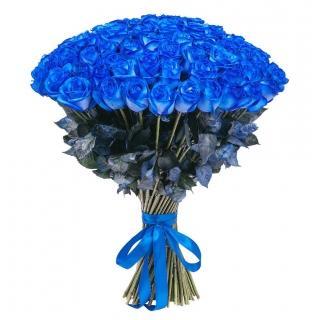 Букеты из Синих Эквадорских Роз