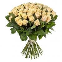 Букеты из Кремовых Роз «Талея»