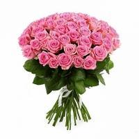 Букеты из Розовых Роз «Аква»