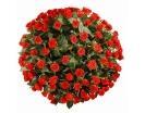 101 Роза «Эль Торо» в Корзине-
