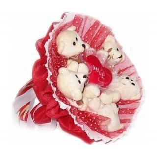 5 Мишек в Красно-белом