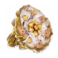 Мишки с конфетами Ферреро Роше