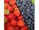 Корзина с ягодами в виде сердца