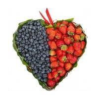 Сердце из Ягод «Половинка»