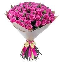 101 Элитная Розовая Роза