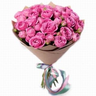 Пионовидные Розы «Мисти Баблс»