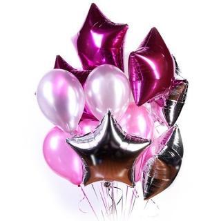 """Набор воздушных шаров """"Pink M"""""""