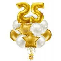 """Набор воздушных шаров """"Gold M"""""""