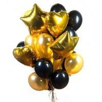 """Набор воздушных шаров """"GOLD L"""""""
