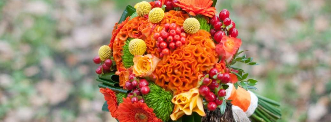 Осенние букеты: очей очарованье
